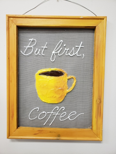Screen - But first Coffee any color