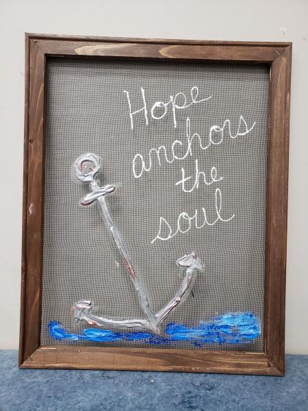 Screen -Hope anchors the soul