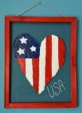 Screen - Patriotic Heart