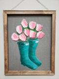 Screen - Tulips and Rainboots