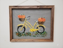 Screen - Bicycle with pumpkins