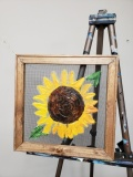 Screen - Sunflower 12x12