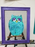 Screen - Colorful Owl 11x14
