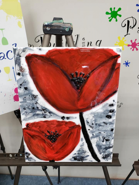 Xcelent Guest Creation - Poppies  large