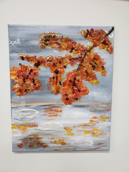 Xcelent Guest Creation - Fall tree branch