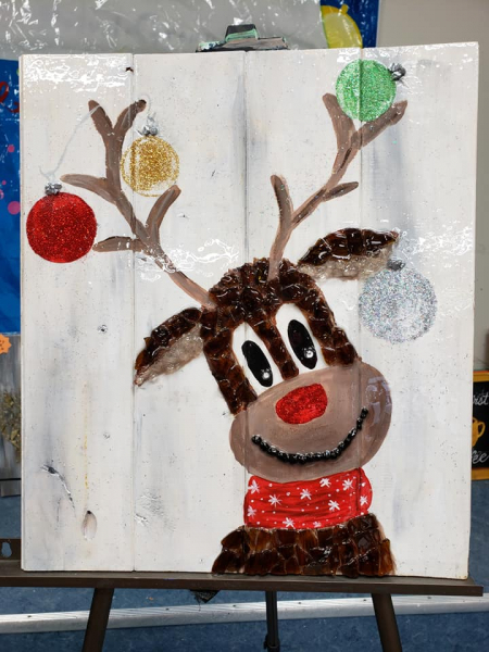 Reindeer with Ornaments