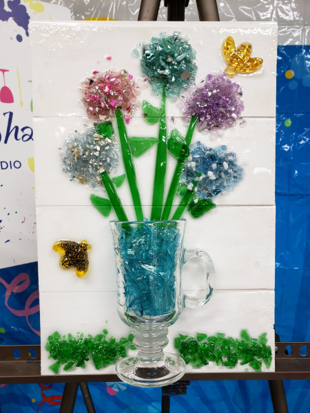 Xcelent Guest Creation - Flowers in a mug