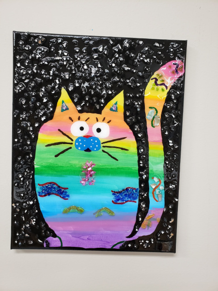 Xcelent Guest Creation - Rainbow kitty