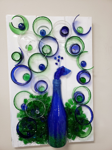 Peacock abtract