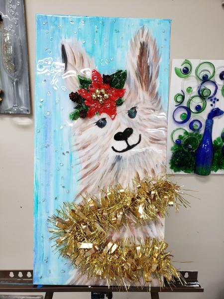 Xcelent Guest Creation - Christmas Llama