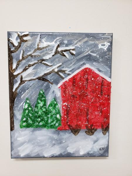 Xcelent Guest Creation - Winter barn