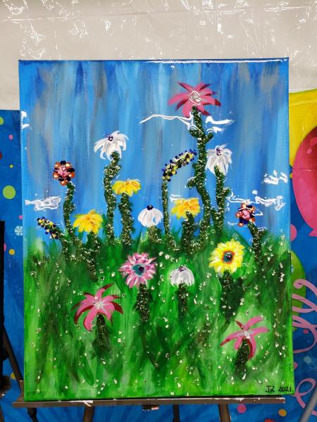 Xcelent Guest Creation -flower field