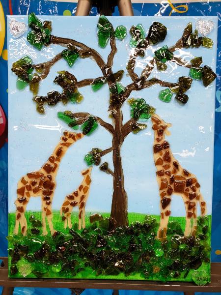 Xcelent Guest Creation -Giraffes
