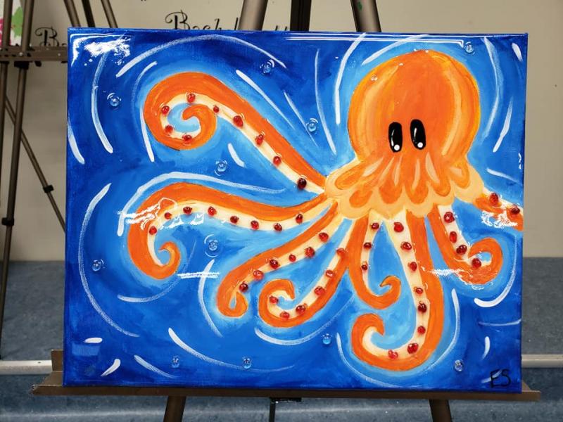 Xcelent Guest Creation - octopus