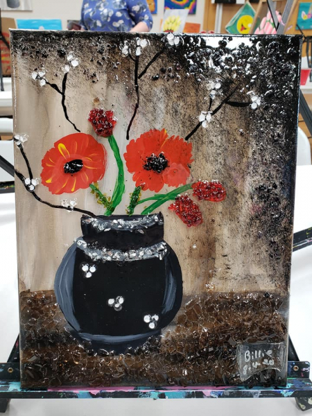 Xcelent Guest Creation - poppies