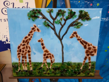 Xcelent Guest Creation - Giraffe Family