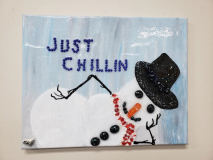 Xcelent Guest Creation - Snowman Just Chillin