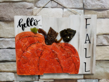 Xcelent Guest Creation - Hello Fall pumpkin