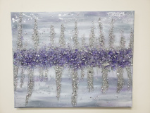 Xcelent Guest Creation - Abstract purple and silver