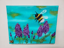 Xcelent Guest Creation - Bumble Bee and flowers
