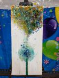 Xcelent Guest Creation - colorful dandelion