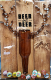 Beer and Deer -shattered art