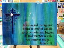 Xcelent Guest Creation -  Joshua 1:9