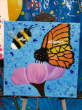 Xcelent Guest Creation -  Butterfly and Bee