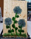 Xcelent Guest Creation - Blue hydrangeas in the rain