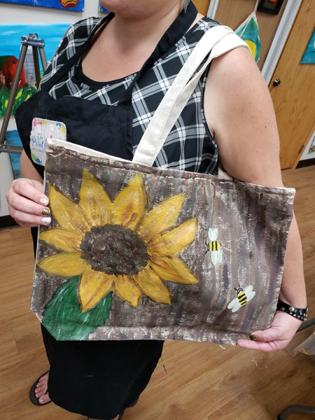 Canvas Bag - sunflower