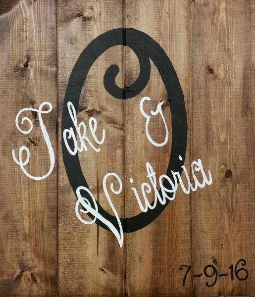 Wood  Name (Elizabeth font)
