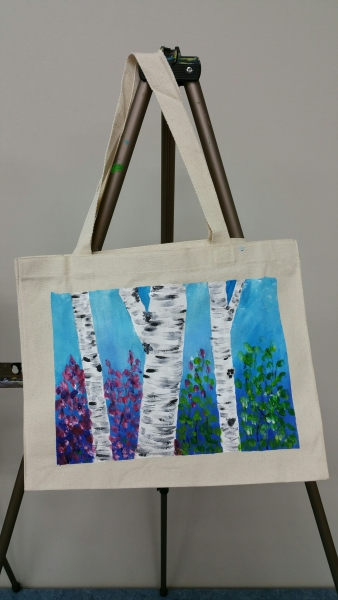 Canvas Bag - Birch Trees