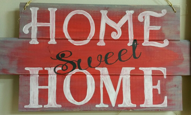 Home Sweet Home (10 x 16&19)