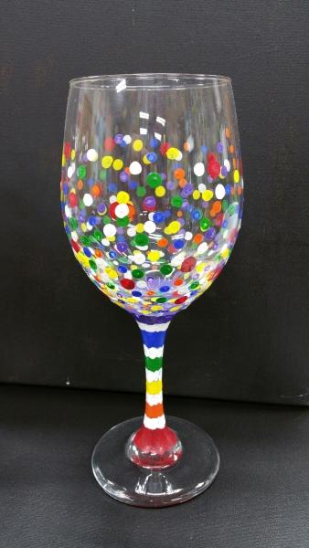 Glass - Colorful Birthday Confetti