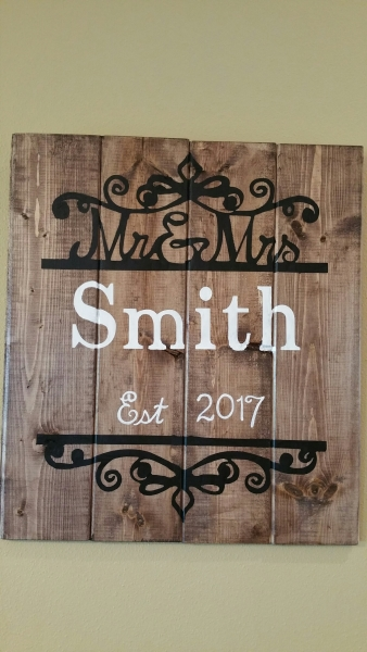 Mr & Mrs Smith (14x16)