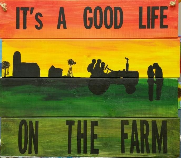 Wood It's a Good Life