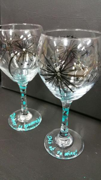 Glass - Dandelion