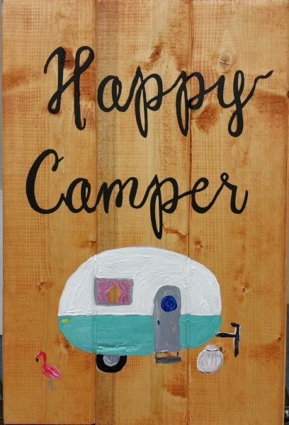 Happy Camper (10x16)