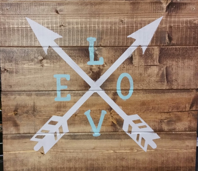 Love Arrows (14x16)