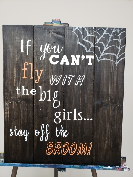 Wood If you Can'f Fly
