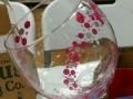 Wine Glass - Bubble Trail
