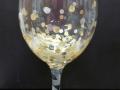 Wine Glass - New Year Confetti