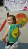 Canvas Bag - kids cinch bag
