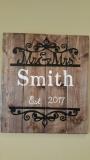 Wood Mr & Mrs Smith (14x16)