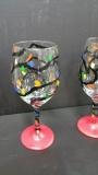 Glass Christmas lights