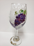 Glass - Grapes