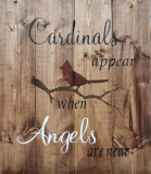 Wood - Cardinals appear when Angels are near