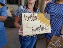 Wood -Hello Sunshine
