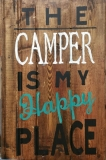 Wood The Camper is my Happy Place (10x16 or 19)