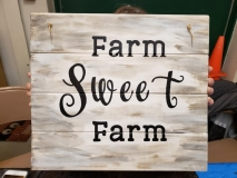 Wood  Farm Sweet Farm
